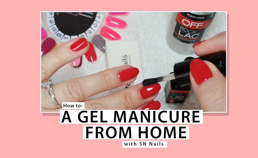 Gel Manicure DIY Tutorial