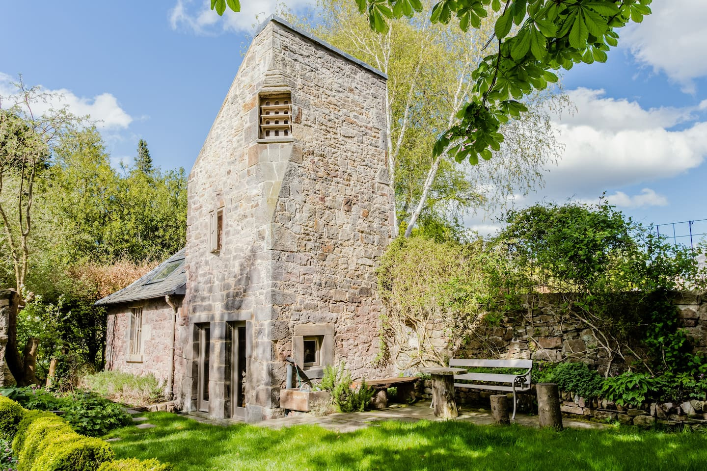 Unusual Airbnb Scotland Edinburgh Dovecot