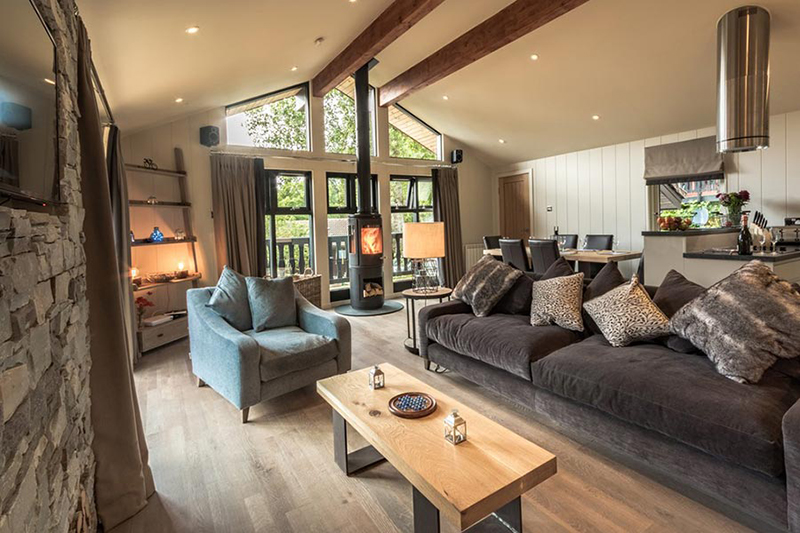 Waterfall Lodge at Loch Tay Highland Lodges