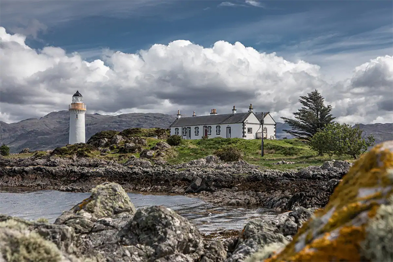 Unusual Airbnbs Scotland Lighthouse Keepers Cottage