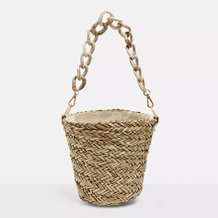 Raffia Bucket Bag Trend