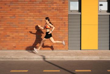 bright running gear