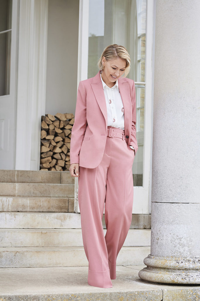 Emma Willis Collection at Next pink suit