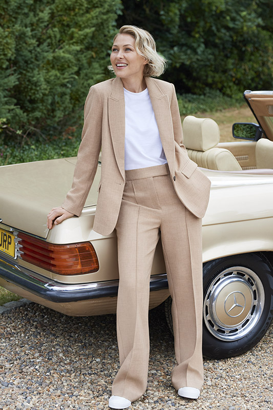 Emma Willis Collection at Next camel suit
