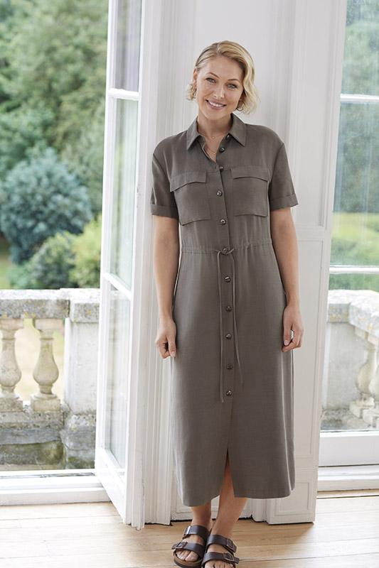 Emma Willis Collection at Next khaki utility dress