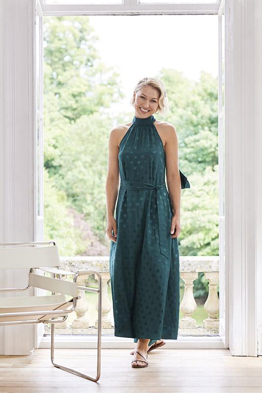 Emma Willis Collection at Next green halter dress