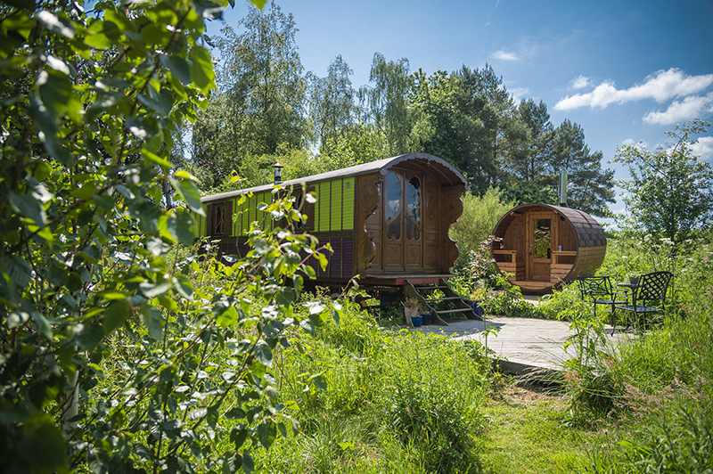 Roulotte Retreat Glamping In Scotland
