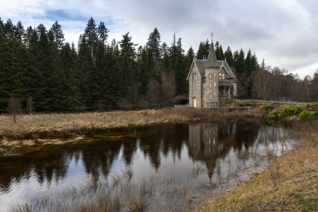scottish filming locations Ardverikie Estate