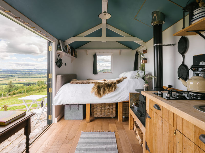 Glamping In Scotland The Kailyard
