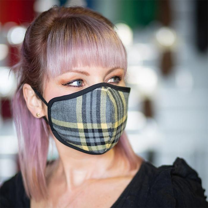 Beatson Charity Tartan Stylish Face Masks