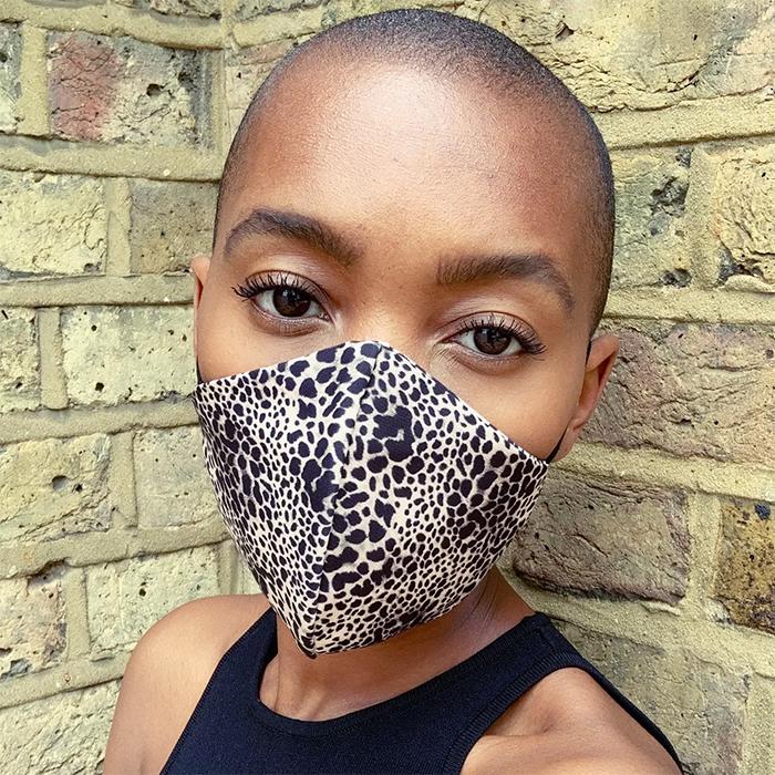 Leopard Print Face Mask Topshop Stylish Face Masks
