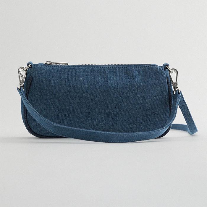 baguette style bag Zara 2020