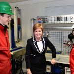 Sturgeon launches first passenger ferry fuelled by liquefied natural gas