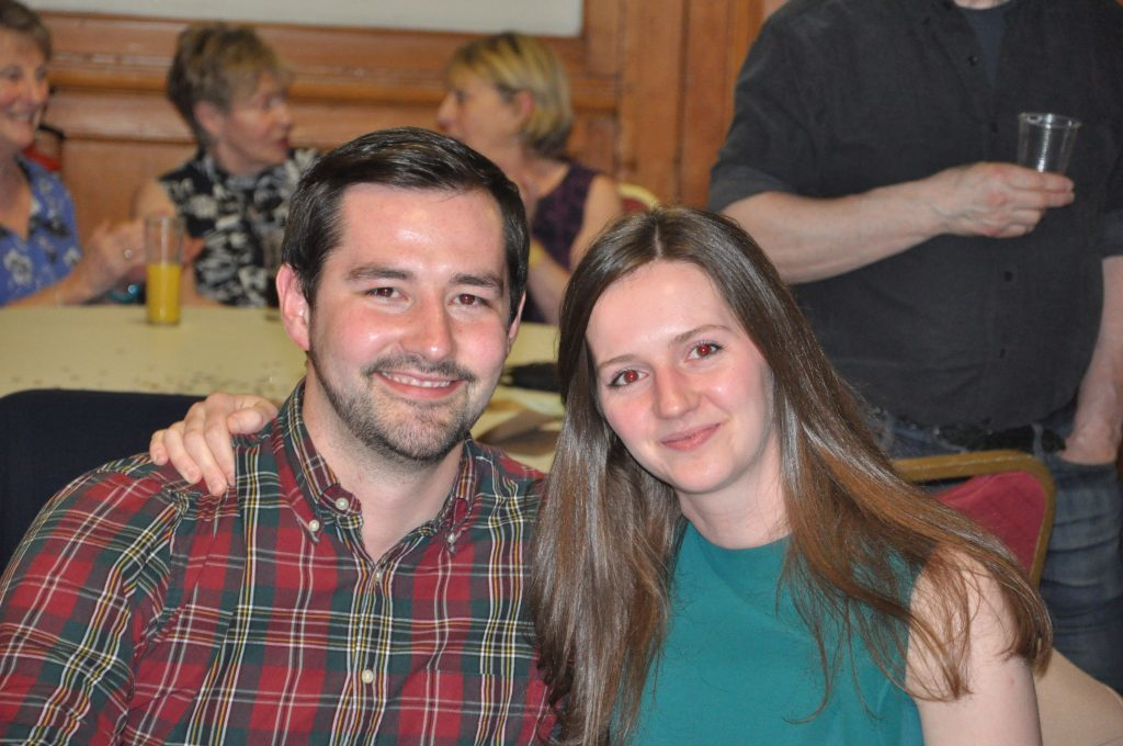Iain McDonald and Eilidh Orr