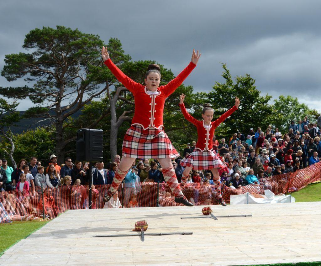 In perfect harmony in the Highland Dancing. F33 Skye Games 07NO. Photo: Sara Bain.