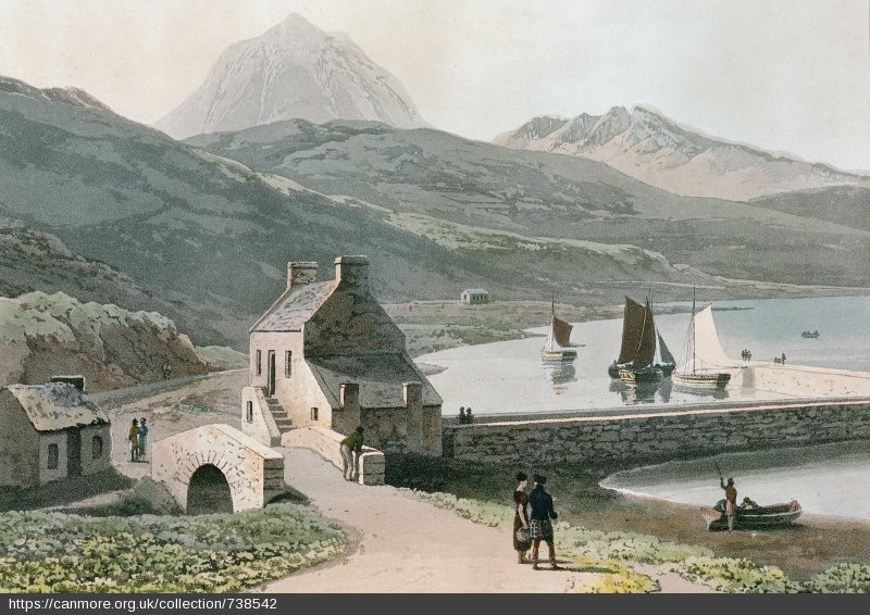 Craighouse on the Isle of Jura, 1817.