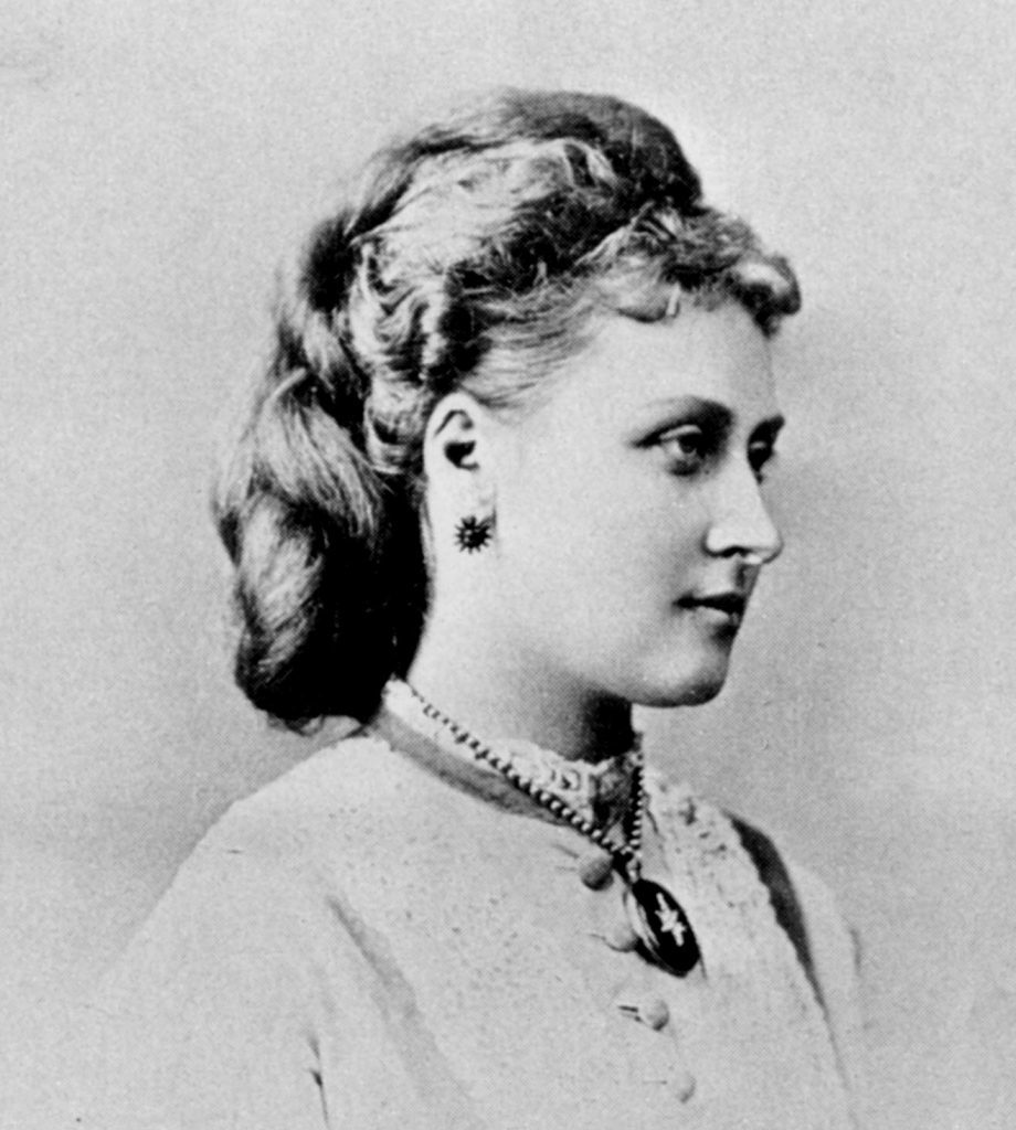 Princess Louise at the time of her wedding (Photograph, The Royal Archives, Windsor)