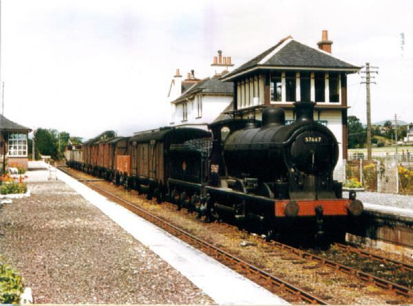 Appin had its own railway station until the Beeching cuts in the 1960s.