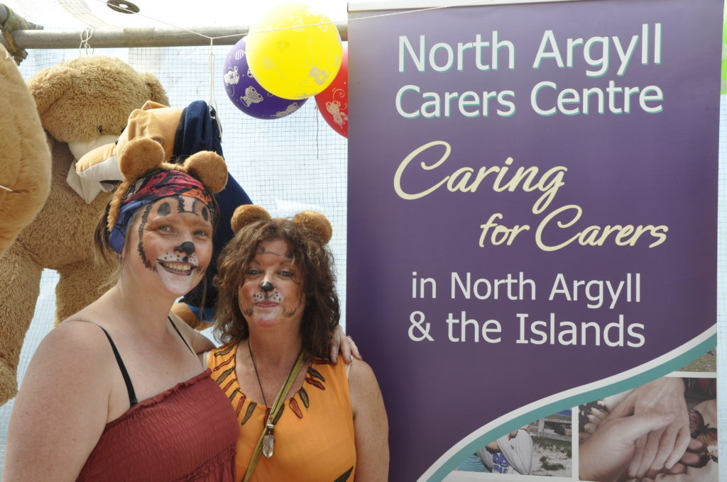 Jane and Ali from the North Argyll Carers Centre. 16_T23_CharitiesDay10