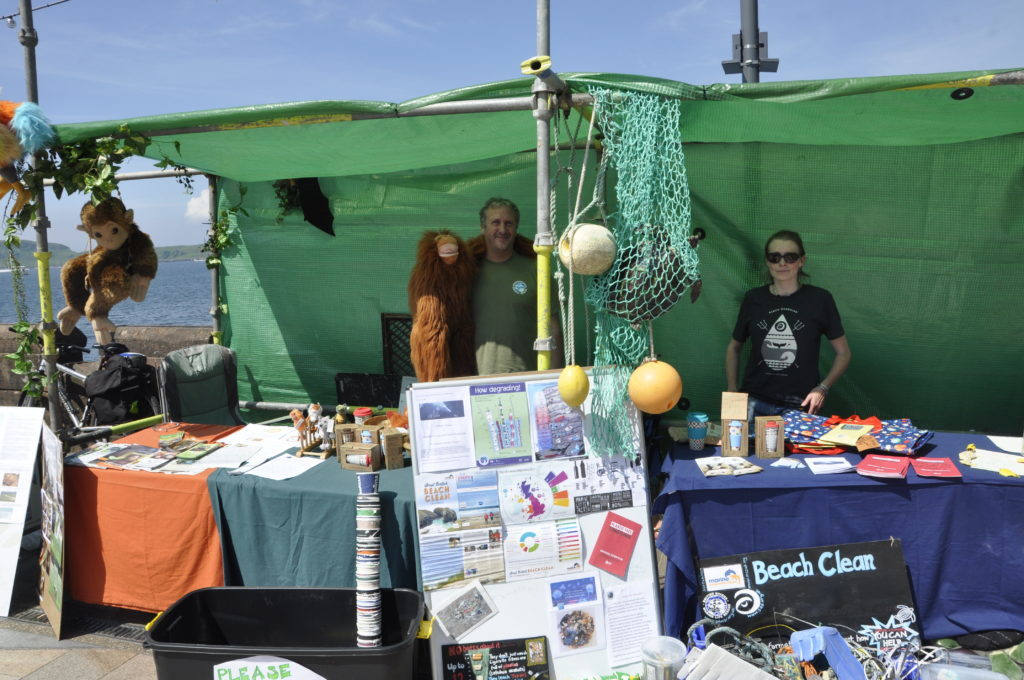 Ross Preston and Janie Steele from Footprint Alba had a stall last year. 16_T23_CharitiesDay14