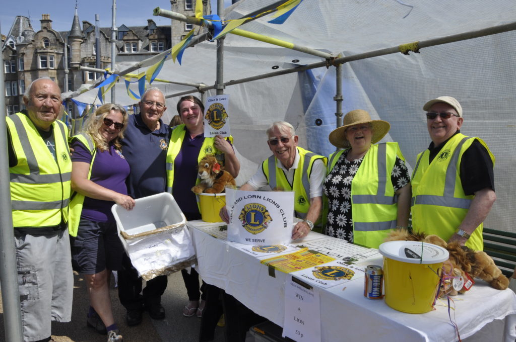 Organisers, The Oban and Lorn Lions Club. 16_T23_CharitiesDay16