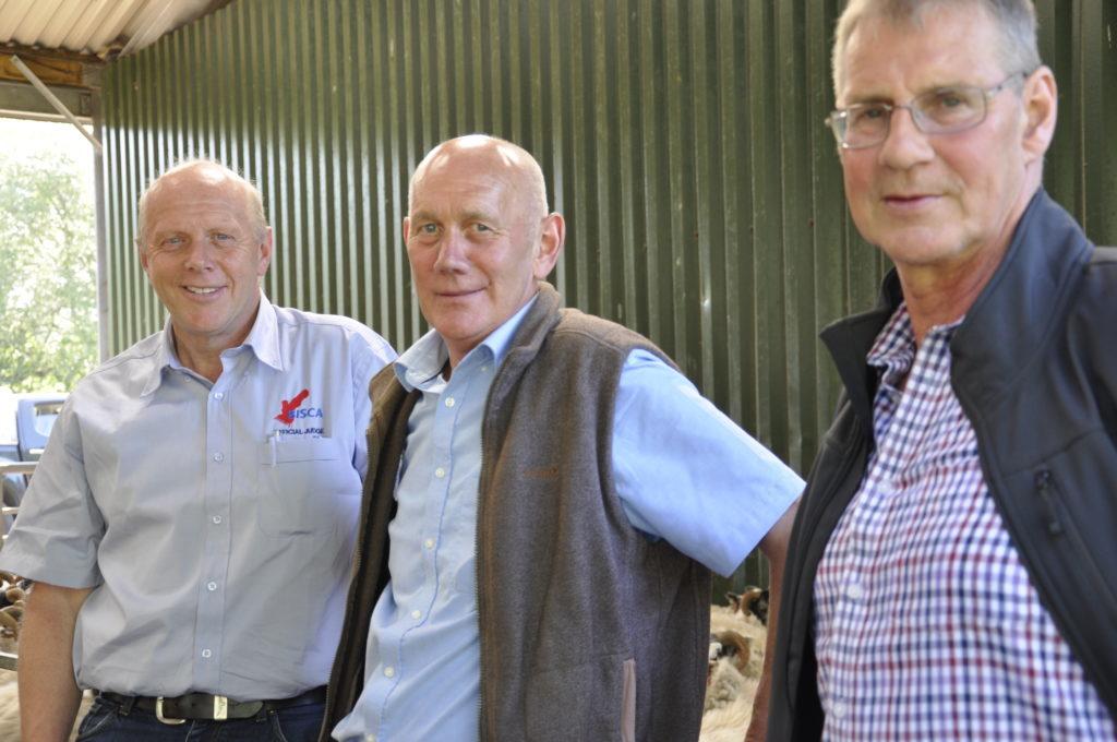 Judges were Andy Rankin, Gordon Stewart and Donald MacKenzie