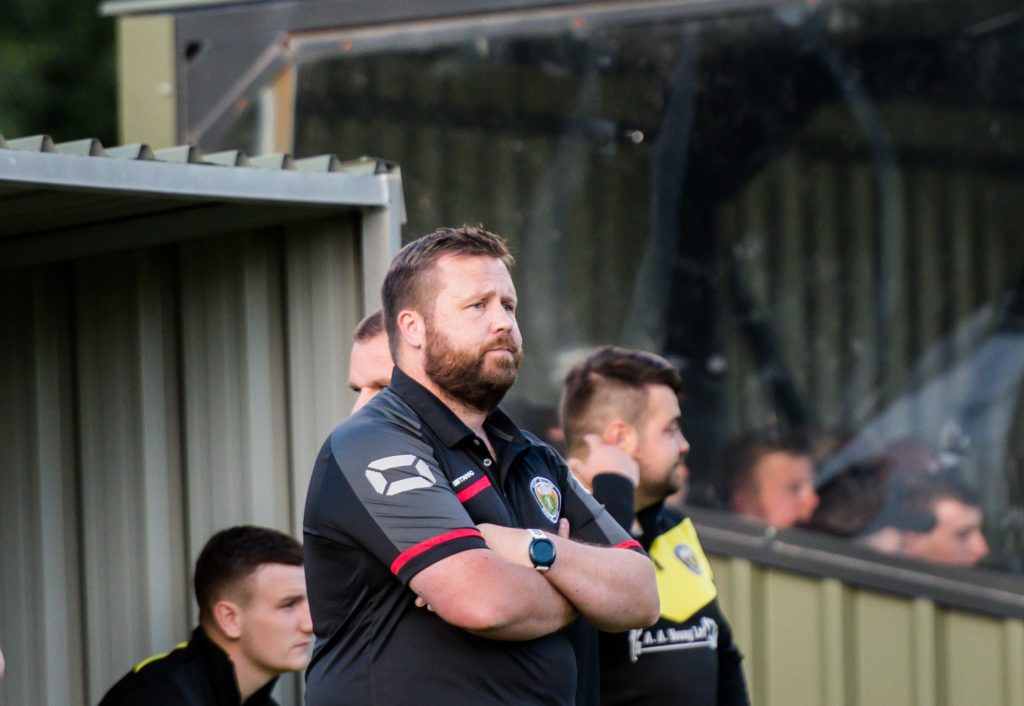 Fort manager Kris Anderson was sacked by the club on Monday. NO F04 Fort FC manager