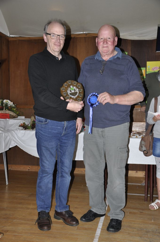 Hugh MacLeod, winner of the McLeod Shield, Lees Milne Cup and Campbell Godley Quaich.