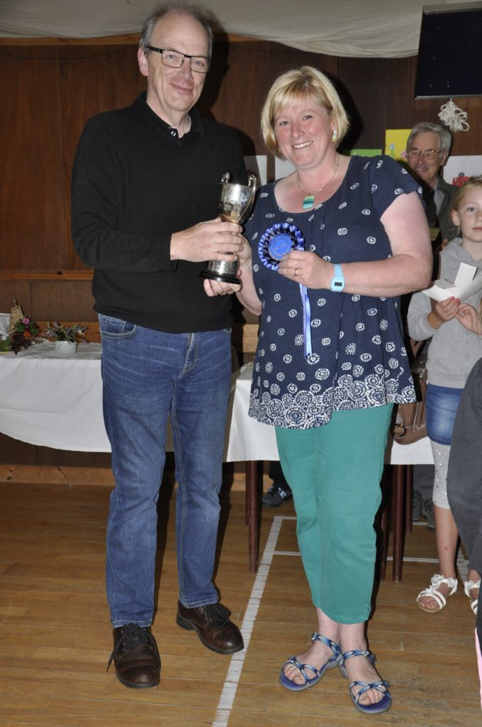 Heather MacPherson, winner of The Oban Times Cup.