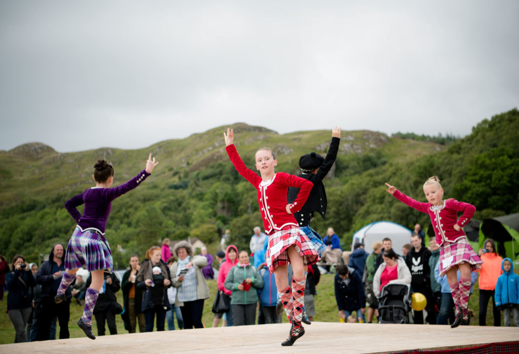 Highland dancers put on a colourful show for spectators. F32 MM Games 13