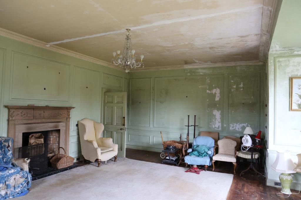 The interior of Ulva House.