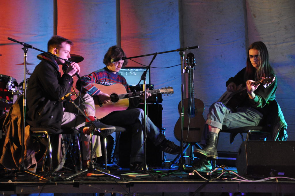 Neon Sheeba opened the music night at Mossfield. 17_T48_WinterFestivalFriday02