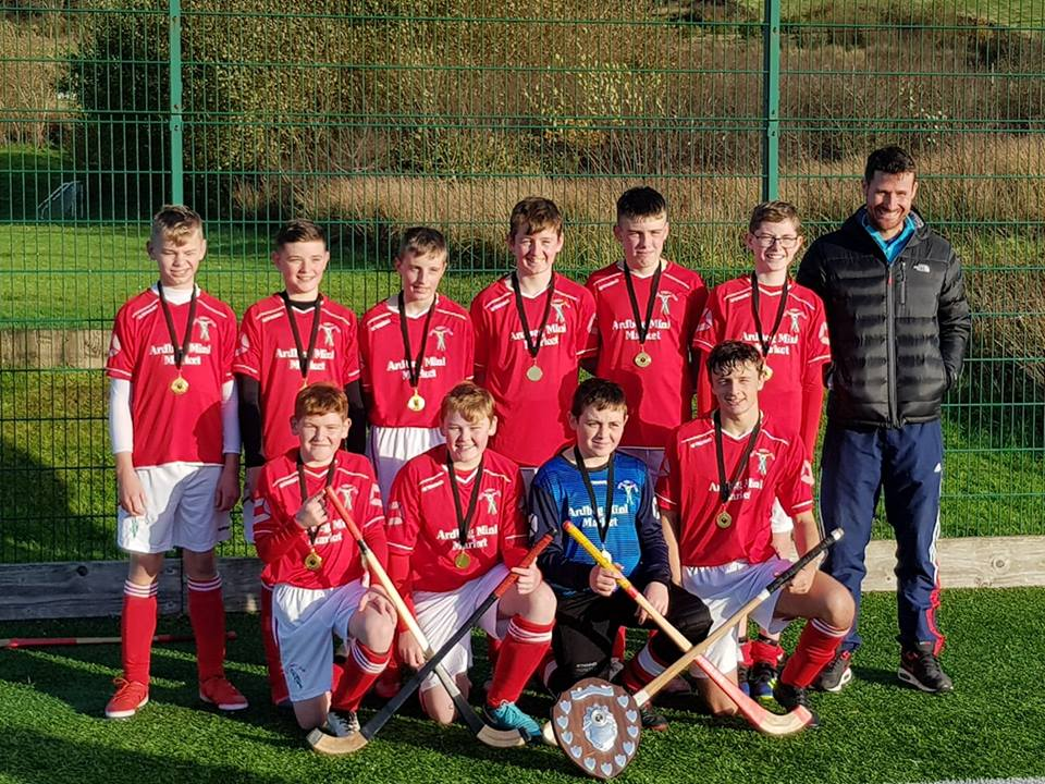 Bute were winners of the South Under 14 league.