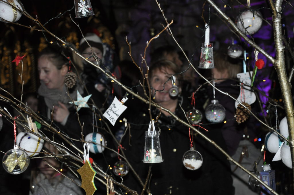 Deck the branches with seasonal delights at St Conan's Kirk.