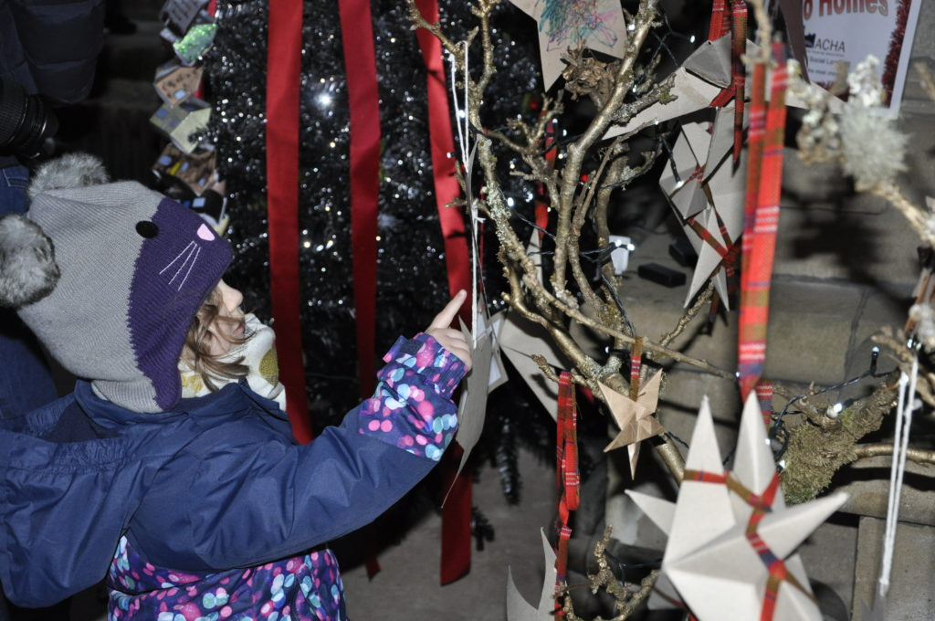 Lots to look at for young and old at St Conan's 2018 Christmas Tree Festival.