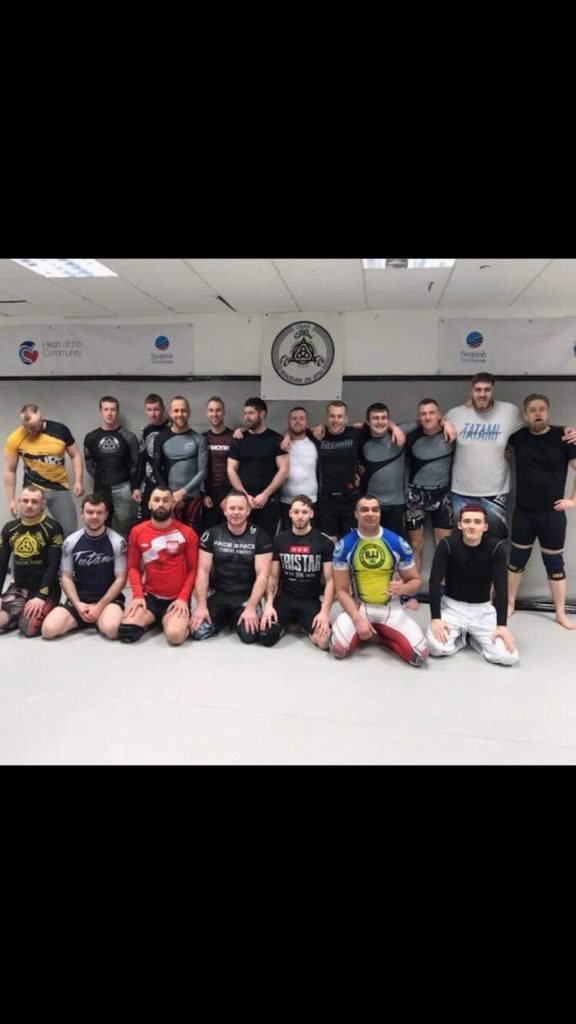 Oban BJJ and MMA members recently enjoyed a seminar with MMA student of the year Cameron Donnelly.