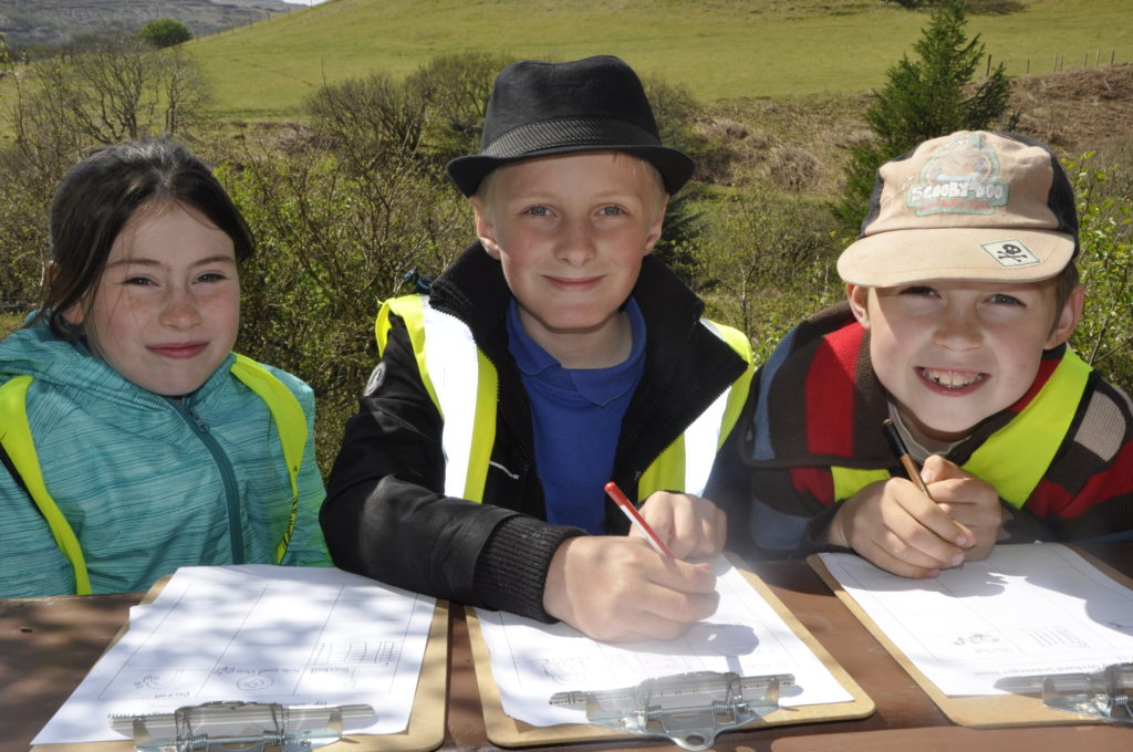 Dervaig Primary School pupils are planning a scavenger hunt in the orchard for younger visitors.