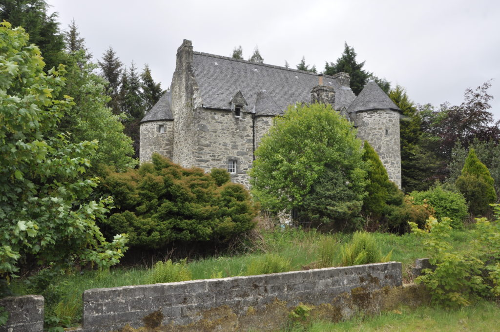 Kilmartin Castle dating back to 1550 now contends with quarry noise inside its walls, says owner Stef Burgeon