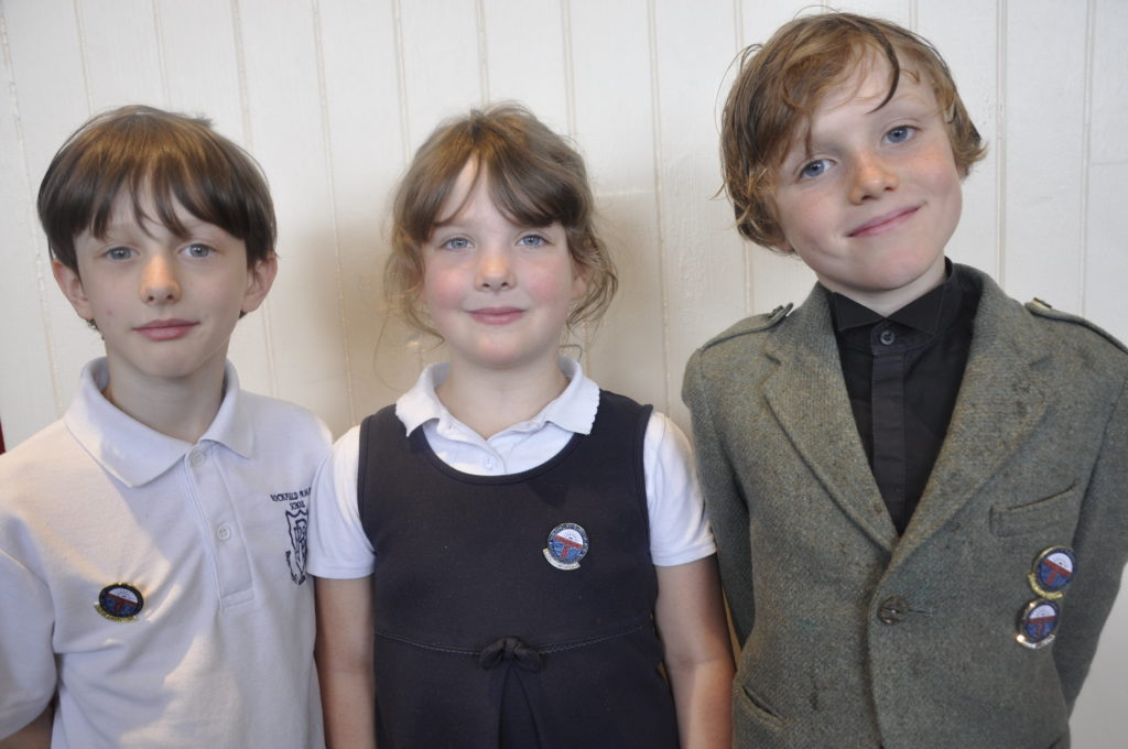 Youngsters from Rockfield Gaelic Unit did well. Kaiden Fair, 8, and his sister Ellis Fair, 6, were among winners including Felix Hughes,8, who took a first and second place in storytelling and poetry.