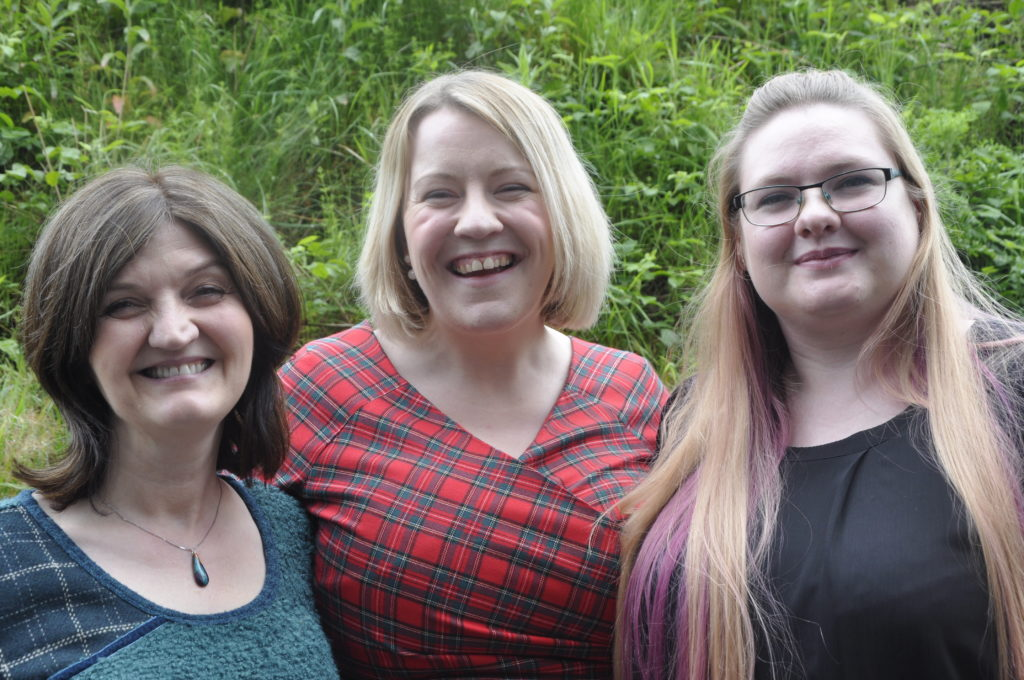 Female voices at Saturday's Mòd included Mary MacKinnon, Julie-Anne  MacFadyen and Shona Keith.