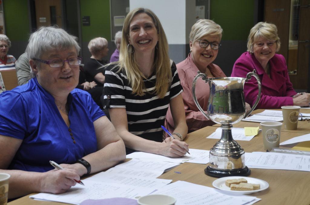 Music adjudicators at Saturday's Mòd were Seonag Anderson, Joy Dunlop, Kathryn Callander and Margaret MacLeod.