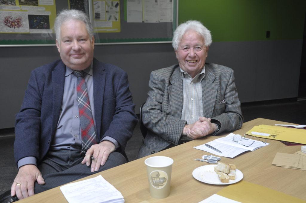 Chairmen at Saturday's Mòd proceedings were Freddy MacKenzie and Danny Macrae.