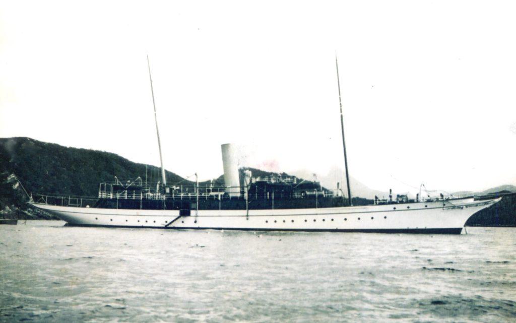 SY Mingary - the Rudd yacht. Photograph: Iain Thornber