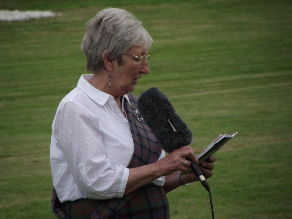 Games chieftain this year was Elizabeth MacDonald.  NO F29 chieftan