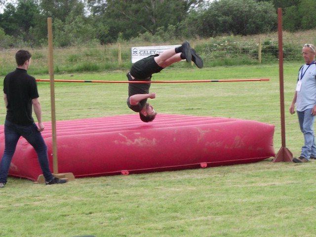 Action from the high jump.  NO F29 highjump2