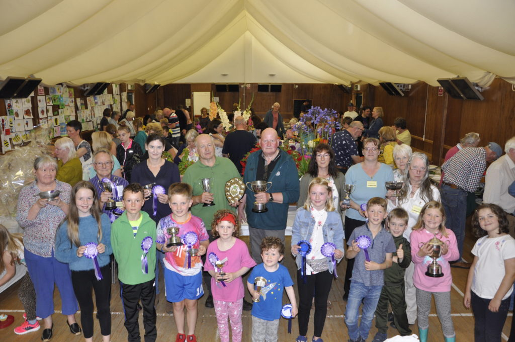 The winners of the 2019 North Connel and District Horticultural Show. 15_T35_Flowershow07