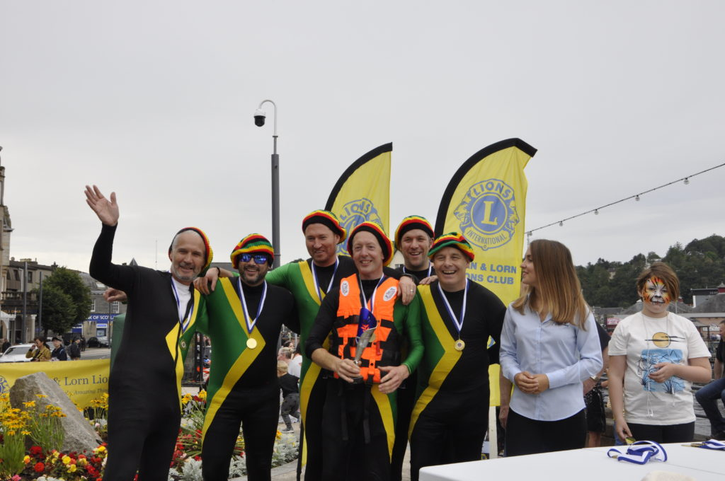 Autoglass' Team Jamaica finished second. 15_T35_RaftRace23