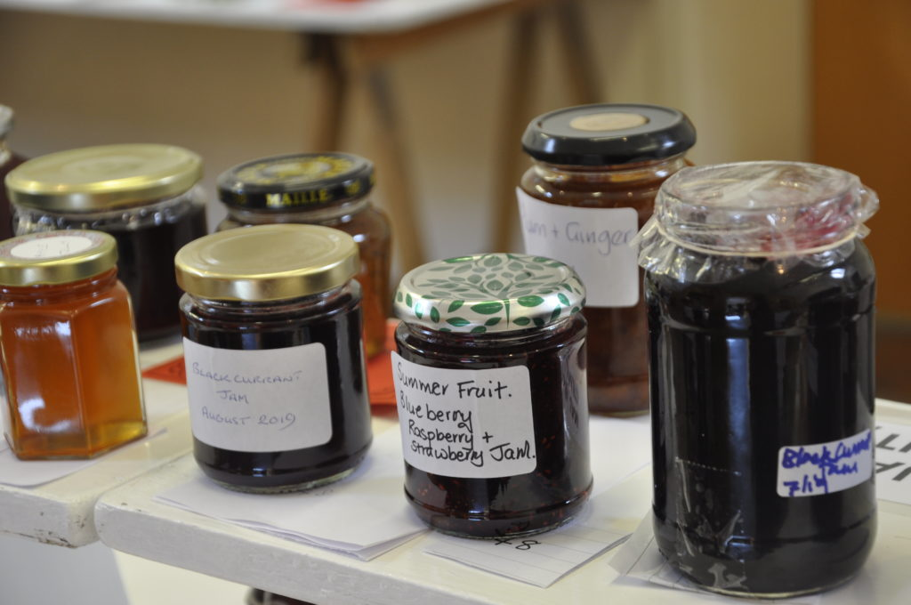 Perfect preserves went down a treat with show judges on Luing.