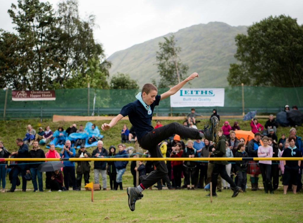 Some action from the high jump.  NO F34 high jump