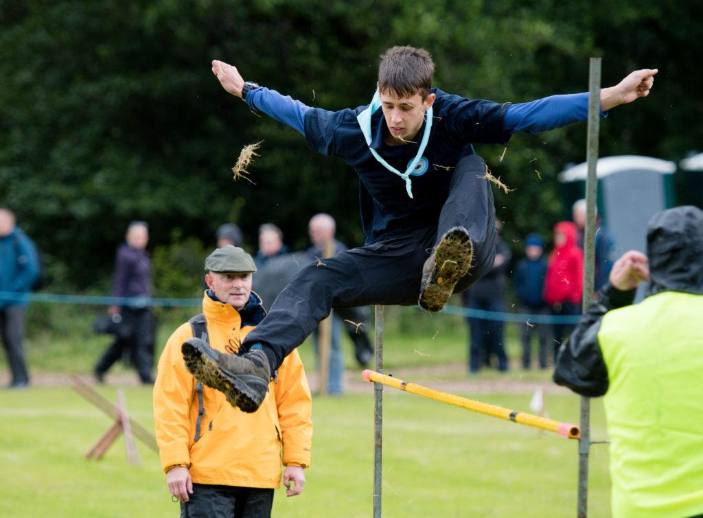 More high jump action.  NO F34 high jump again